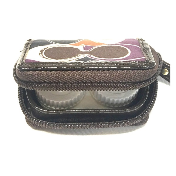 Coach Contact Lens Travel Case - NEW no tags